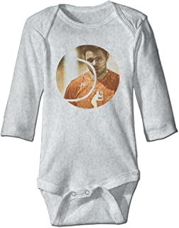 DOUBLEBNM NA YOG Milk Stan Wawrinka Infant Baby's Romper Long Sleeve Jumpsuit Climb Clothes