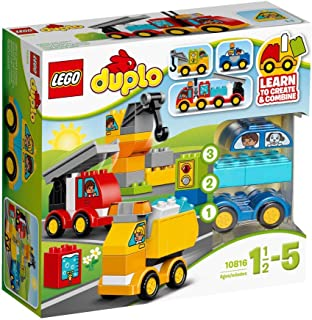 Duplo My First Cars and Trucks by LEGO, for Kids, 6137256