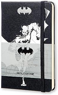 モレスキン ノートブック 限定版 バットマン 無地 ポケット LEBA01QP012