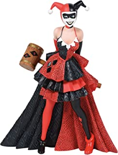 Enesco 6006321 DC Comics Couture de Force Harley Quinn Figurine, 7.76 Inch, Multicolour