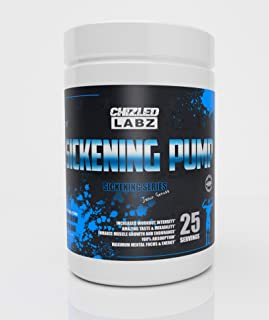 Sickening Pump Preworkout - Focus Energy Reps & Massive Pump (You Know My Flava) - Blueberry Lemonade