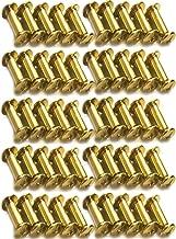 acero carbono cruz avellanados tornillos carpinter/ía sujetador con caja Akozon 800pcs M2 cabeza redonda tornillo autorroscante