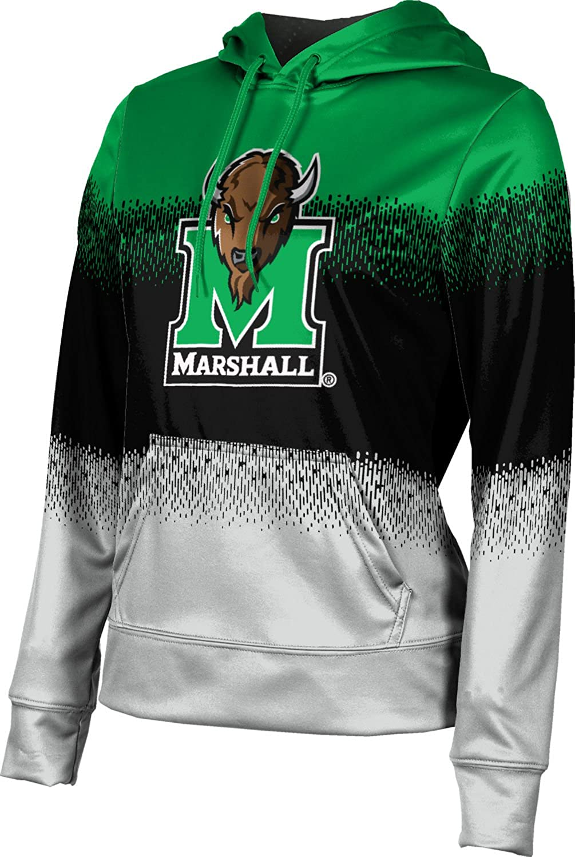 ProSphere Marshall University Girls' Pullover Hoodie, School Spirit Sweatshirt (Drip)