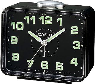 Casio TQ-218-1DF Alarm Clock, Black