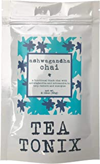 ASHWAGANDHA CHAI blend with Ashwagandha, Schisandra, and Ginger 60g - BE BALANCED with our restorative, functional chai tea
