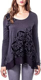 Luxury Fashion | Desigual Womens 19WWTK69GREY Grey T-Shirt | Autumn-Winter 19