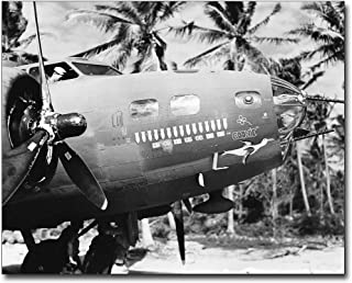 WWII Boeing B-17 Flying Fortress Nose Art 8x10 Silver Halide Photo Print