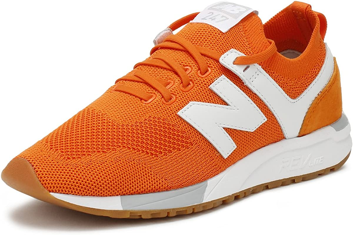 New Balance Uomo Arancione 247 Sneaker : Amazon.it: Moda