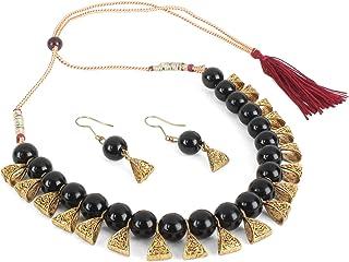 140eb7434 Shining Diva Fashion Latest Design Stylish Antique Necklace Jewellery Set  For Women