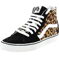VANS SK8-HI Leopard Zapatos Deportivos para Mujer Negro