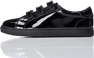 Marca Amazon - RED WAGON Zapatillas de Deporte con Velcro Niñas