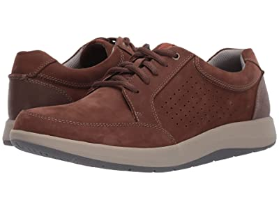 Clarks Shoda Walk (Brown Nubuck) Men
