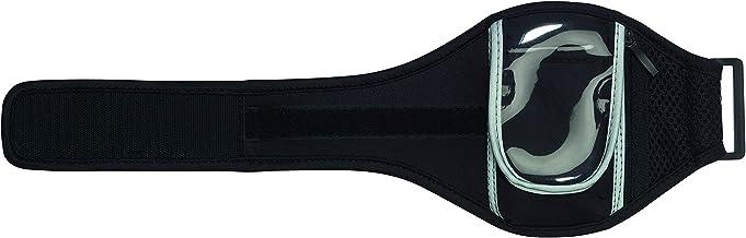 TOPICO Unisex - volwassenen bovenarm tas SMART RUN powerarmbanden, zwart, 14 x 43,5 cm