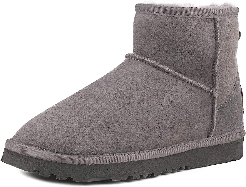 Ausland Women's Classic Sheepskin Boots Snow Luxury goods Half Max 62% OFF