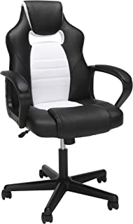 Essentials by OFM ESS-3083 Racing Style Gaming Chair, White