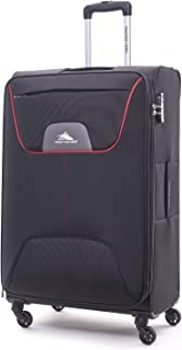 High Sierra Travel Pod Hardside Spinner Luggage 56cm with 3 digit Number Lock - Black