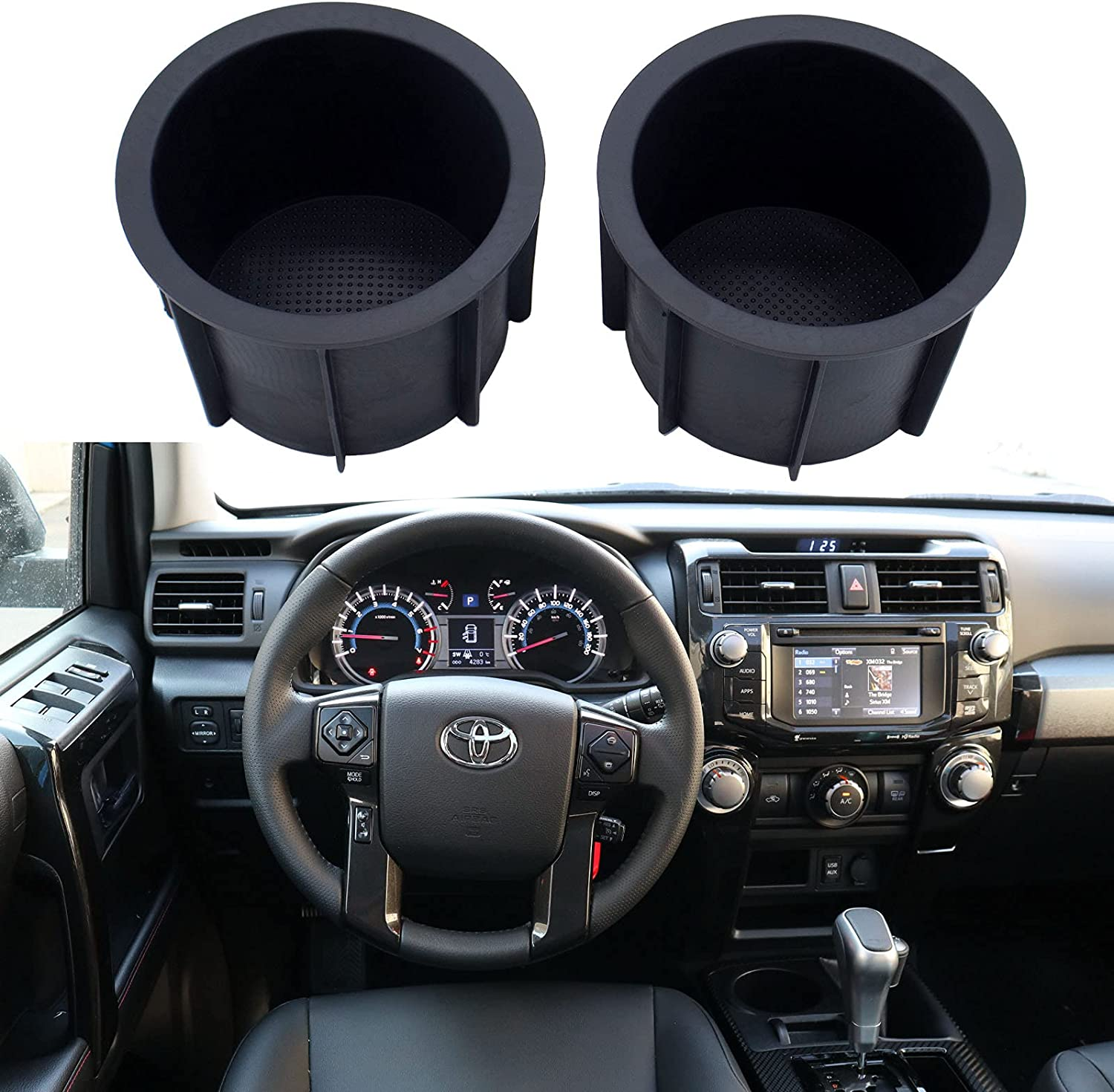 MOCW 66991-35030 Center Console Cup Holder Clearance SALE! Limited time! for Direct store Inserts 2010-2020