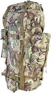Kombat Army Military Rucksack Hiking Camping Bag Combat Cadet Backpack Travel 60L New BTP `All Terrain Camo'
