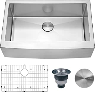 Best small farmhouse kitchen sinks Reviews