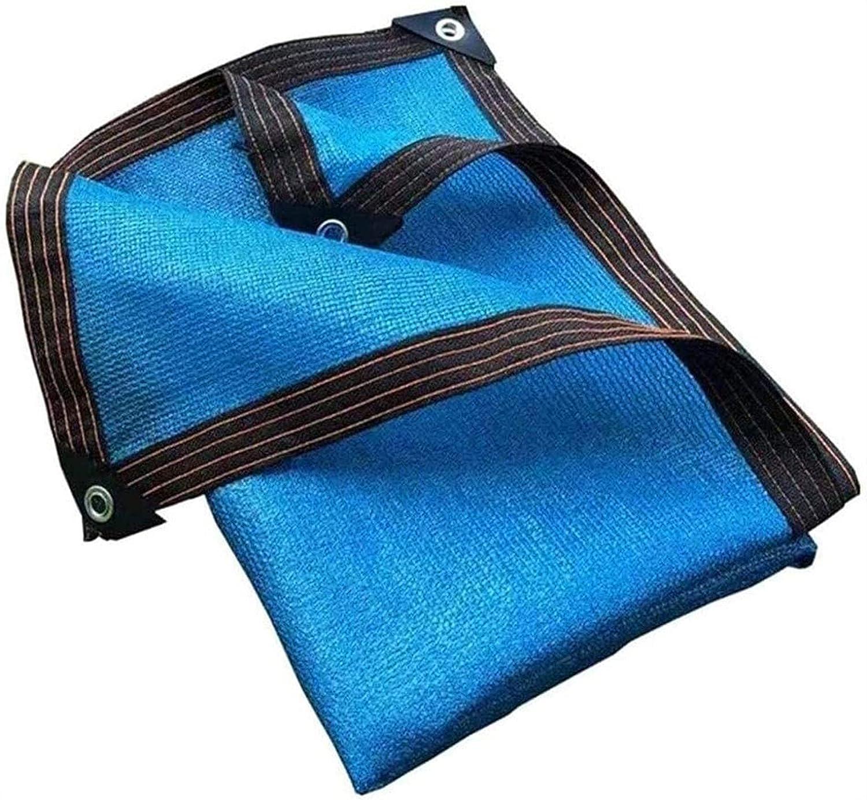 Dedication QIAOH 80% Sunblock Shade Cloth Mesh Tear Tarps Cheap for 7x7ft