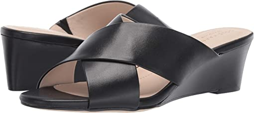Black Leather/Black Stack