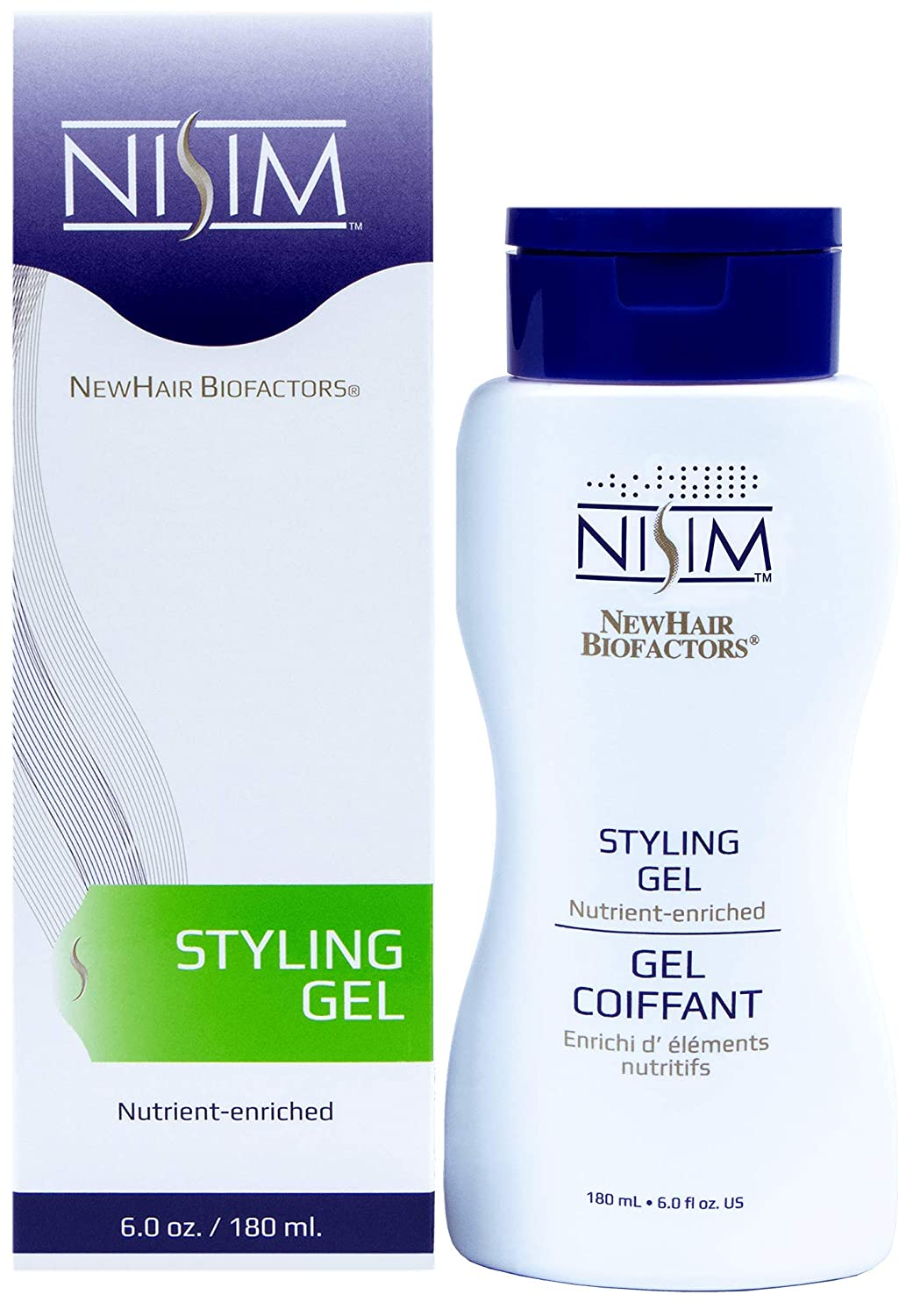 NISIM NewHair BioFactors Styling Gel - Nutrient-rich Clearance SALE Limited quality assurance time