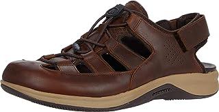 Merrell Men's Tideriser Luna Fisherman Leather Sports Sandal, Earth, 13 M US
