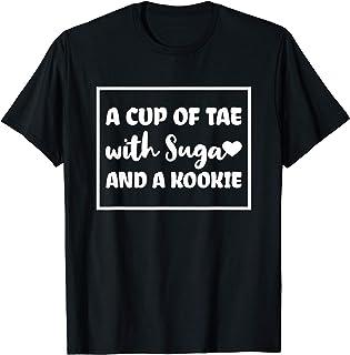 Citation coréenne de Tea Suga Kookie T-Shirt