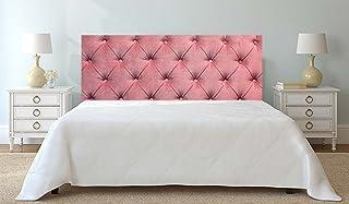 Cabecero Cama PVC Impresión Digital sin Relieve Rosa 150 x 60 cm | Disponible en Varias Medidas | Cabecero Ligero, Elegante, Resistente y Económico