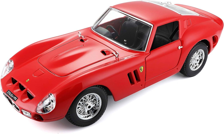 Bburago 15616602 - 1 18 Original Ferrari 250 GTO, Fahrzeug, rot