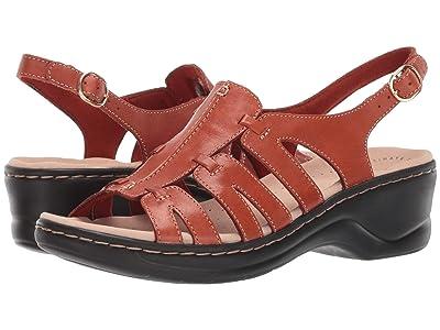 Clarks Lexi Marigold Q (Rust Leather) Women