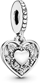 Pandora Women's My Wife always Dropper Charm - Silver Plated