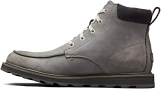 Sorel - Men's Madson Moc Toe Waterproof Boot, All-Weather Footwear for Everyday Wear