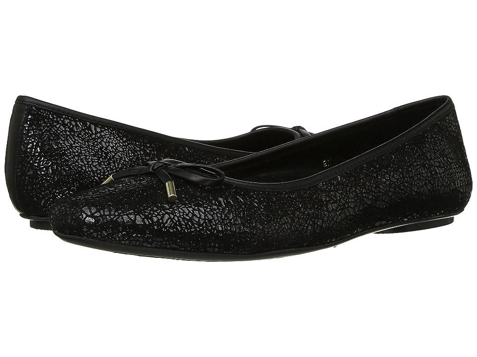 Vaneli Signy (Black Glit Croco Print/Matching Nappa) Women