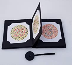 Ishihara Colour Vision Test Book for Color Deficiency 24 Plates with User Manual and OCCLUDER