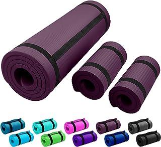 Esterilla de fitness ReFit en 7 colores, 1,5 cm, antideslizante, no daña las articulaciones, extra gruesa y suave, dimensi...
