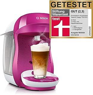 Bosch TAS1001 TASSIMO Happy Cafetera de cápsulas, 1400 W,