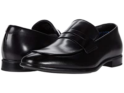 Steve Madden Masin (Black Leather) Men