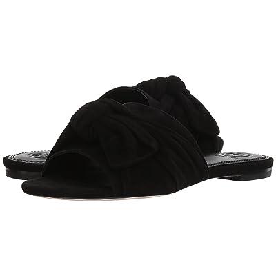 Tory Burch Annabelle Bow Slide (Perfect Black) Women