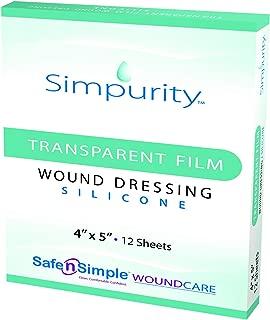 Safe n' Simple Silicone Transparent Film Dressing 4
