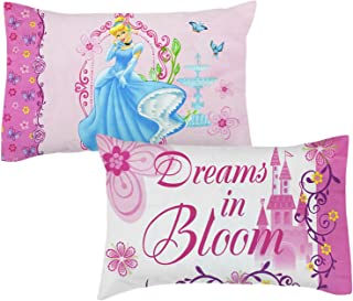 2pc Disney Princess Pillowcases - Cinderella Dreams Bedding Pillowcovers
