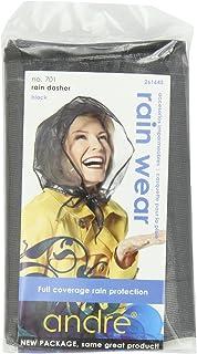 Andre Rain Wear 701 Rain Dasher, Black, One Size Fits All