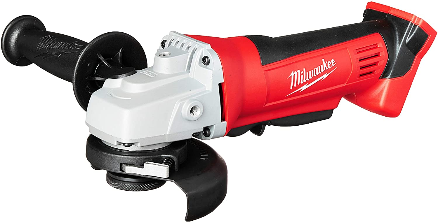 Milwaukee'S 2680-20 M18 18V Lithium Ion 4 1/2 Inch Cordless Grinder With Burst Resistant Guard And Paddle Switch Design