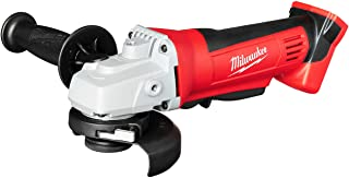 Milwaukee 2680-20 M18 18V Lithium Ion 4 1/2 Inch Cordless Grinder with Burst Resistant..