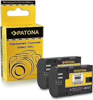 2x Batería LP-E6 para Canon EOS 5D Mark II / 5D Mark III | EOS 7D | EOS 60D / 60Da