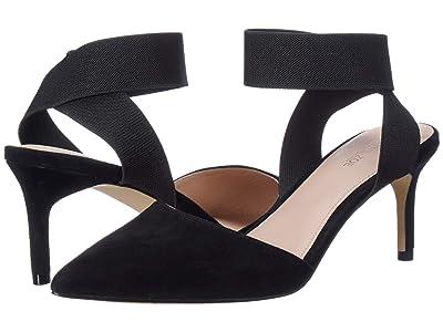 Rachel Zoe Blaire Pump (Black Suede/Black) High Heels
