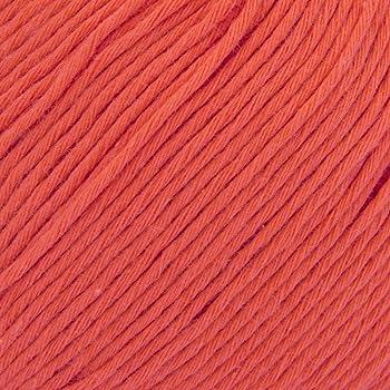 ggh Cottina - 023 - Naranja brillante - Algodón para tejer y hacer ganchillo: Amazon.es: Hogar