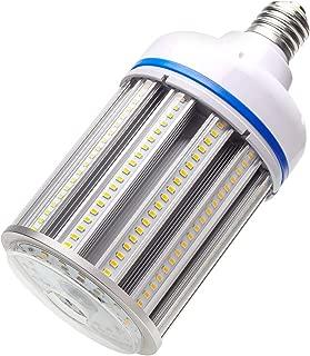 100W LED Corn cob Light Bulb, Large Mogul Base E39 LED Bulbs,5000K Daylight AC110-277V,LED Replacement 400W Metal Halide HID HPS for steet Area Warehouse Parking lot High Bay Canopy shoebox Fixture