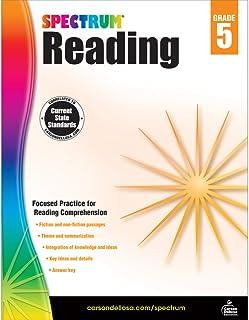 Spectrum   Reading Workbook   Grade 5, Printable