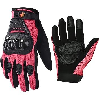 Scorpion Skrub Womens Textile Sports Bike Racing Motorcycle Gloves X-Small Pink